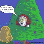 Creepy Santa Card Christmas 2010