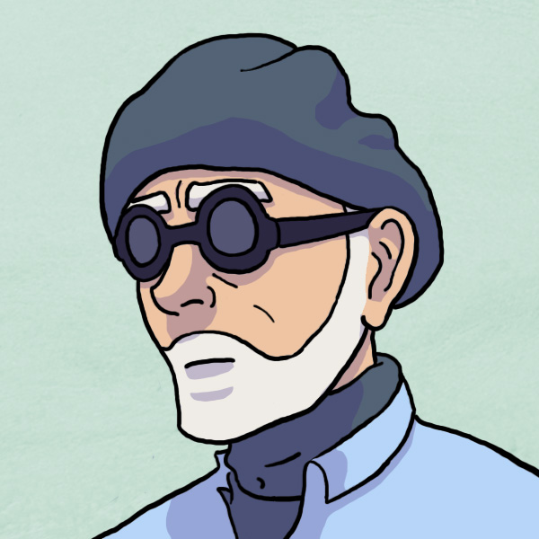 Dad Comic Avatar